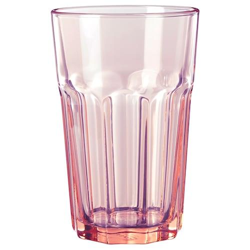 POKAL Glas rosa 14 cm 35 cl