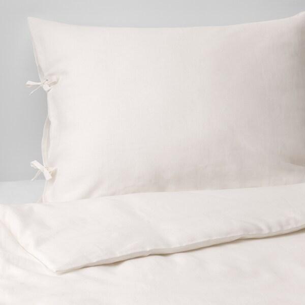 PUDERVIVA Bettwäscheset, 3-teilig weiß 2 Stück 220 cm 240 cm 50 cm 60 cm