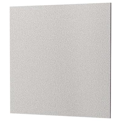 RÅHULT Wandpaneel maßgefertigt, hellgrau Steinmuster/Steinkomposit, 1 m²x1.2 cm