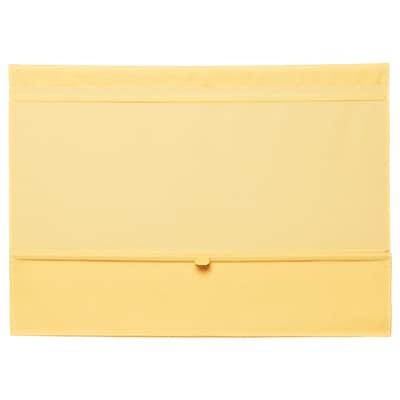 RINGBLOMMA Faltrollo, gelb, 80x160 cm