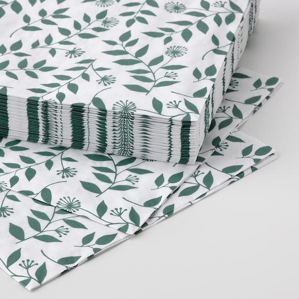 ROSENHÄTTA Papierserviette, versch. Farben, 33x33 cm