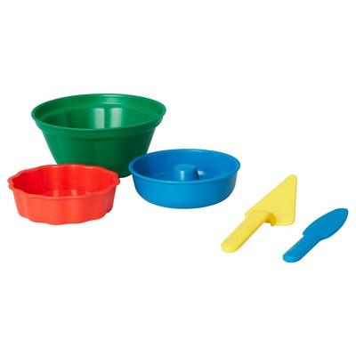 SANDIG Sandspielzeug/Back-Set, 5-tlg.