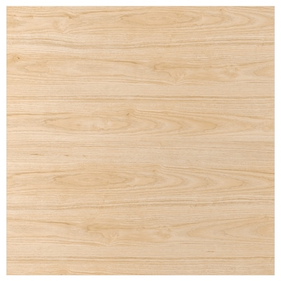 SIBBARP Wandpaneel maßgefertigt, Eschenachbildung Laminat, 1 m²x1.3 cm
