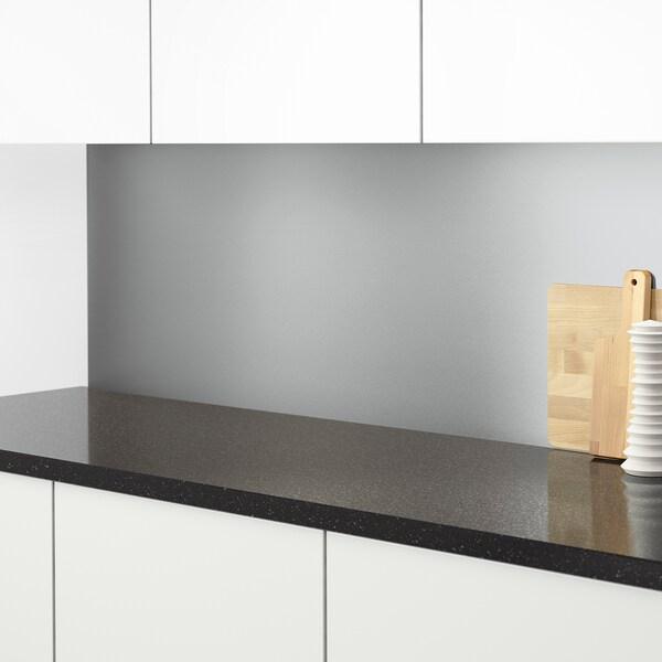 Sibbarp Wandpaneel Massgefertigt Stahlfarben Laminat Ikea Osterreich