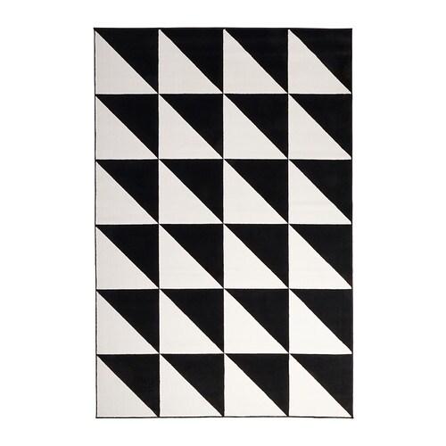 Sillerup teppich kurzflor ikea for Ikea teppich schwarz