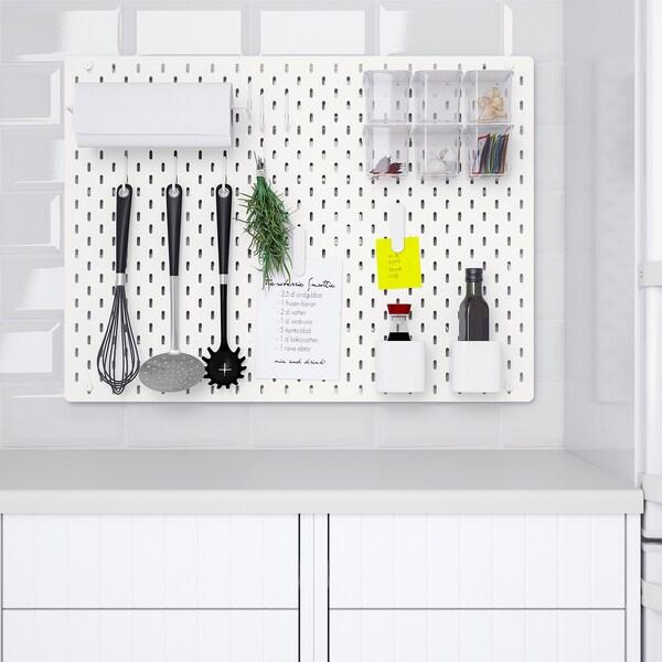 Skadis Lochplatte Kombination Weiss Hier Entdecken Ikea Osterreich