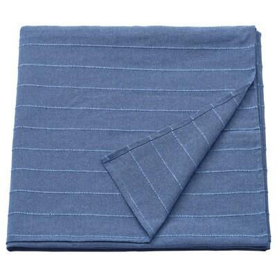 SKÄRMLILJA Tagesdecke blau 250 cm 150 cm