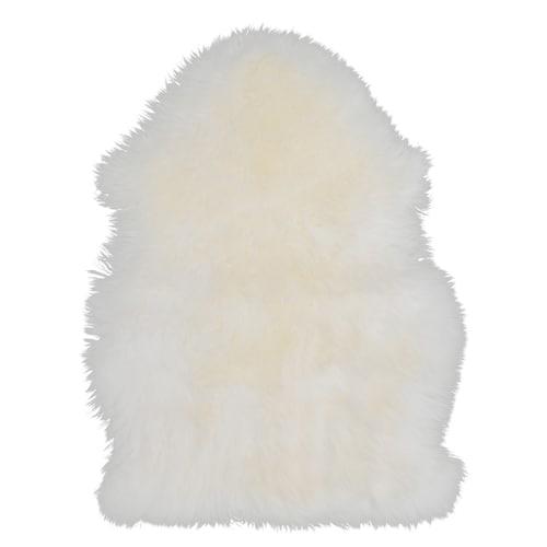 SKOLD Schaffell weiß 60 cm 44 cm 5 cm