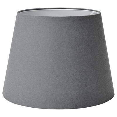 SKOTTORP Leuchtenschirm, grau, 42 cm