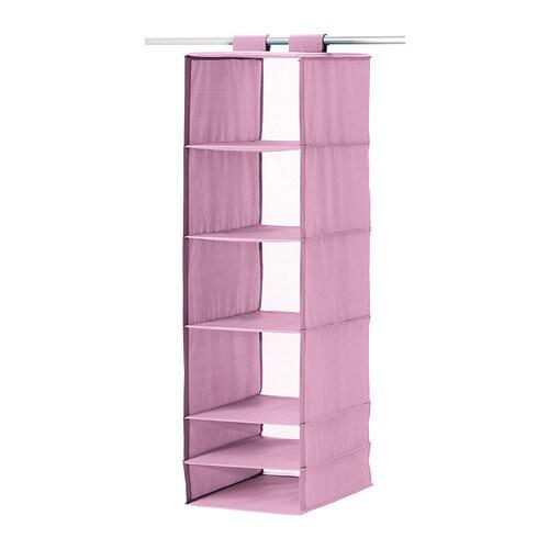 skubb aufbewahrung mit 6 f chern rosa ikea. Black Bedroom Furniture Sets. Home Design Ideas