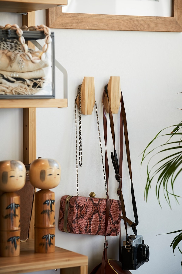 SKUGGIS Haken, Bambus, 5.4x7 cm