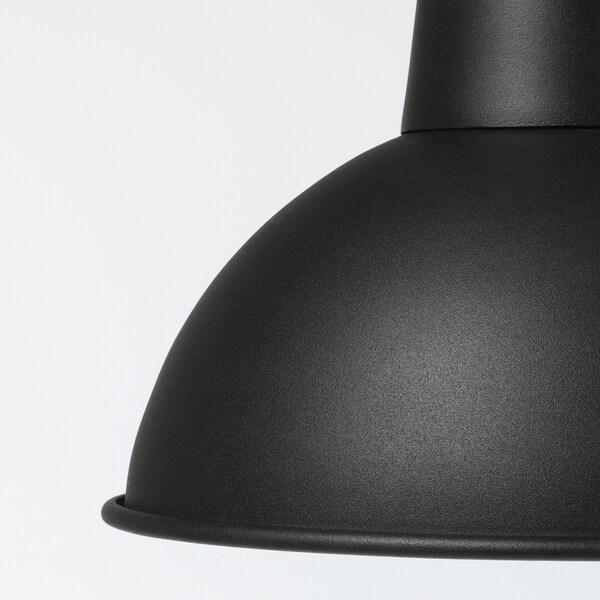 SKURUP Hängeleuchte, schwarz, 19 cm