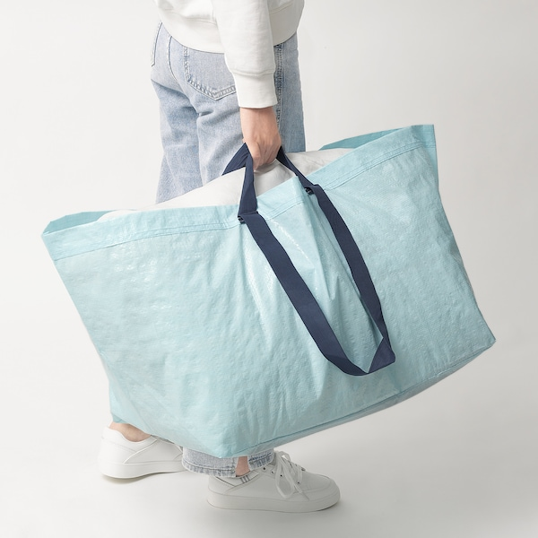 SLUKIS Tasche groß, hellblau, 71 l