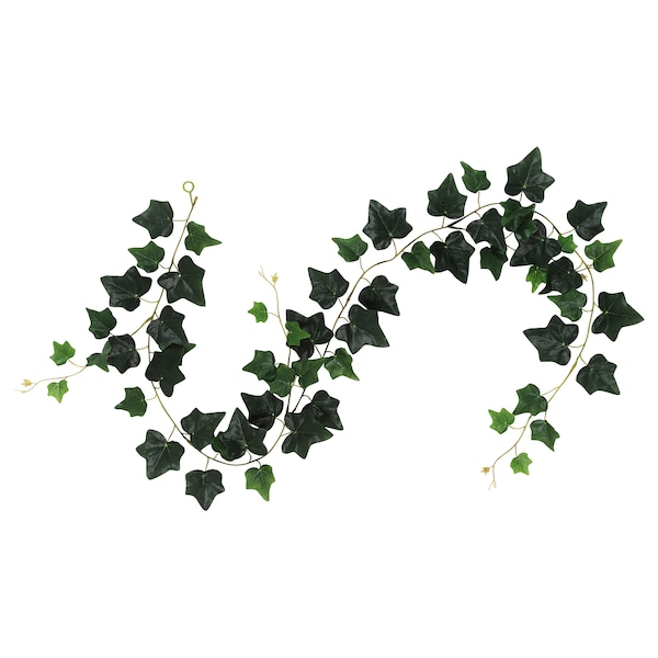 SMYCKA Girlande, drinnen/draußen/Efeu grün, 1.5 m