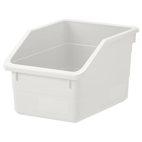 SOCKERBIT Box, weiß, 19x26x15 cm