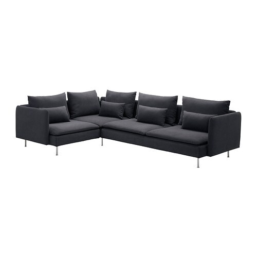 s derhamn ecksofa samsta dunkelgrau ikea. Black Bedroom Furniture Sets. Home Design Ideas