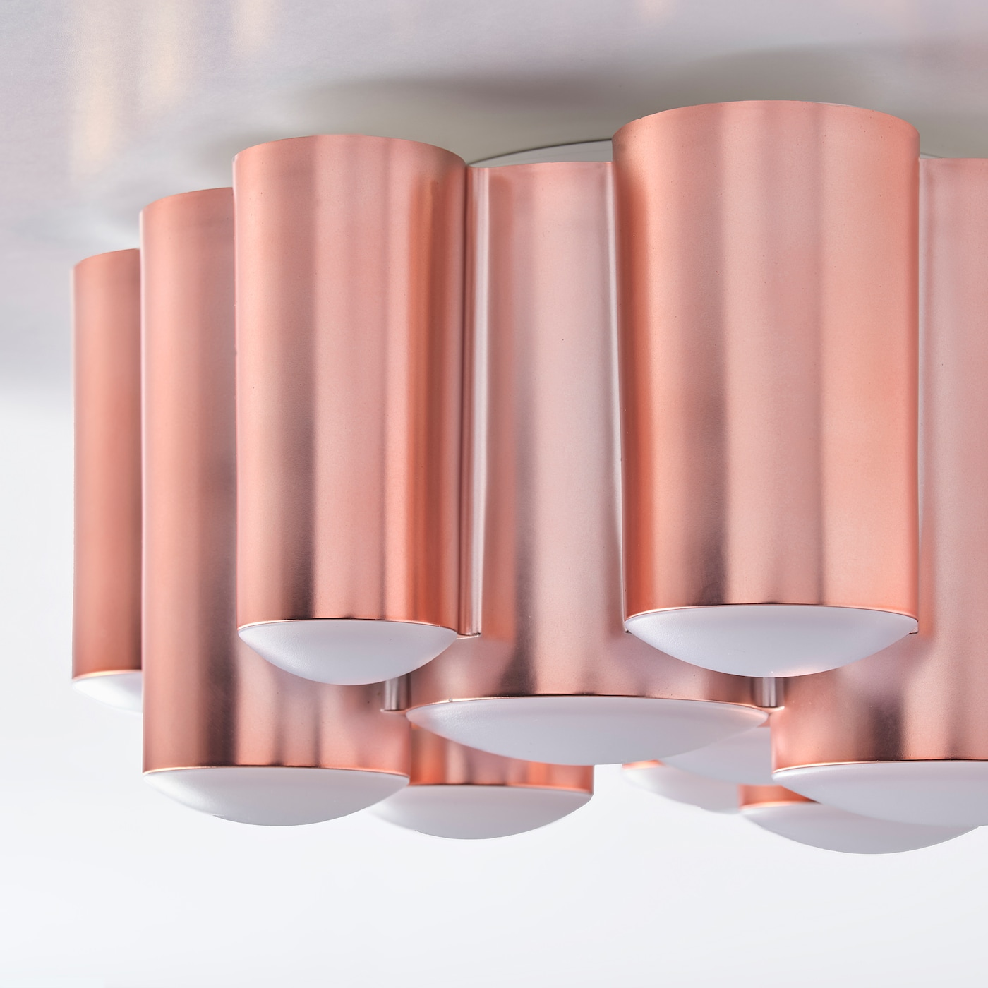 SÖDERSVIK Deckenleuchte, LED rosamattiert 21 cm