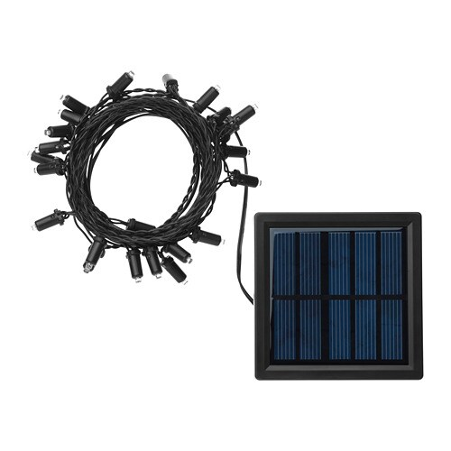 solarvet lichterkette 24 led ikea. Black Bedroom Furniture Sets. Home Design Ideas