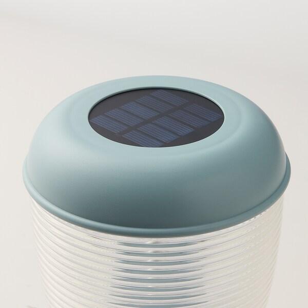 SOLVINDEN Solartischleuchte, LED, blau