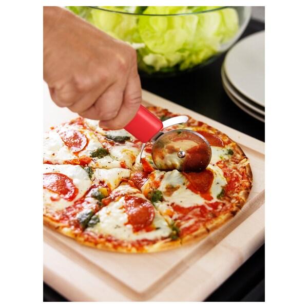 STÄM Pizzaschneider, rot/weiß/schwarz