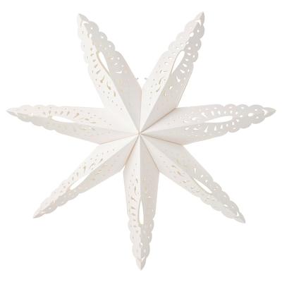 STRÅLA Leuchtenschirm, Schneeflocke, 70 cm