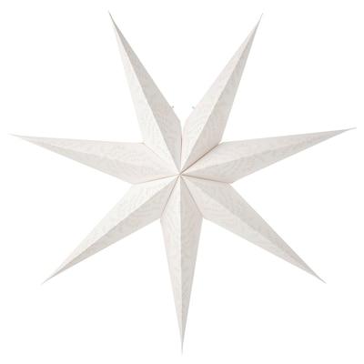 STRÅLA Leuchtenschirm, Spitze/weiß, 90 cm