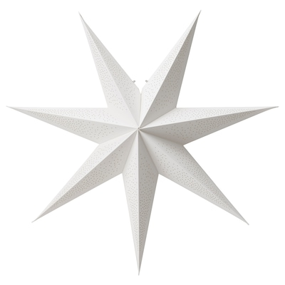STRÅLA Leuchtenschirm, weiß, 70 cm