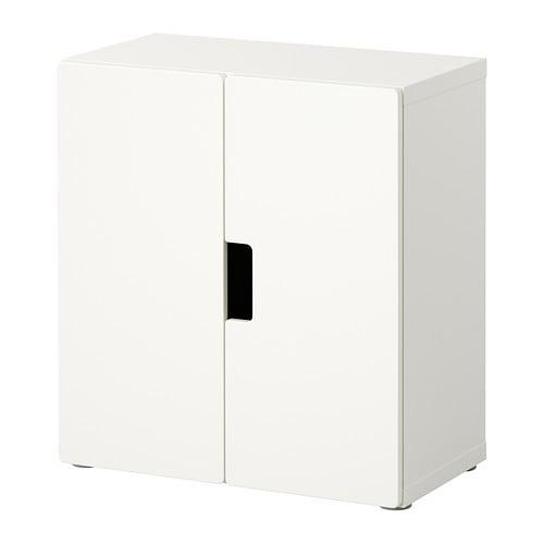 STUVA Wandschrank mit Türen > Türen mit integriertem Stopper für