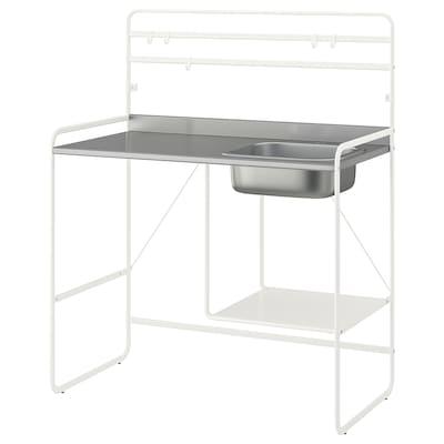 SUNNERSTA Miniküche, 112x56x139 cm