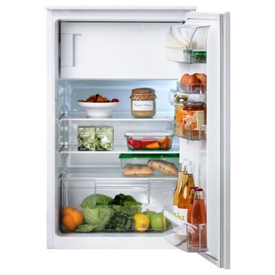 SVALKAS Einbaukühlschrank mit Gefrierfach, weiß, A++