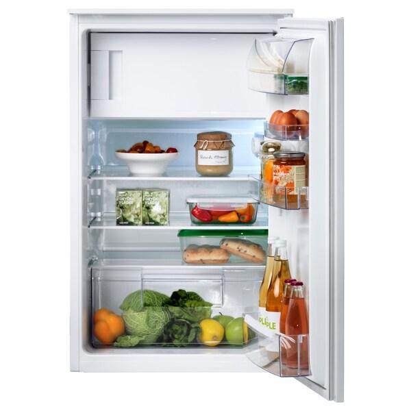 SVALKAS Einbaukühlschrank mit Gefrierfach weiß 54.0 cm 54.9 cm 87.3 cm 240 cm 109 l 14 l 29.00 kg