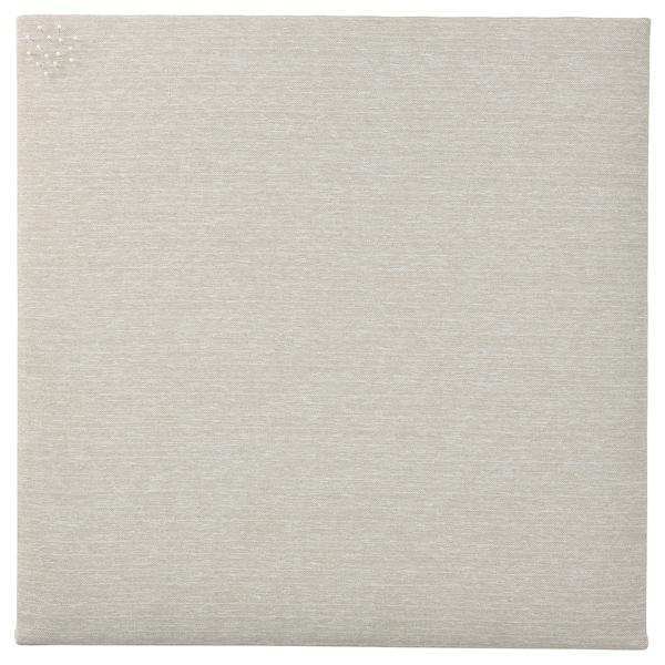 SVENSÅS Notiztafel mit Pins, beige, 60x60 cm