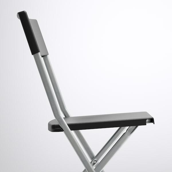 TÄRENDÖ / GUNDE Tisch und 4 Stühle, schwarz, 110 cm