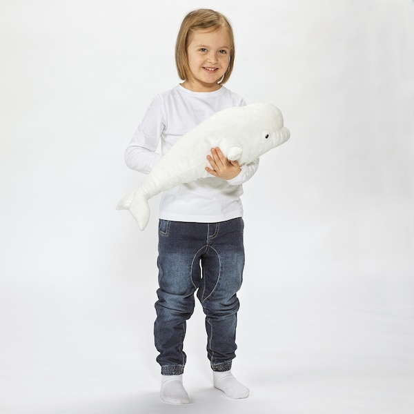 TANDVAL Stofftier Wal 55 cm