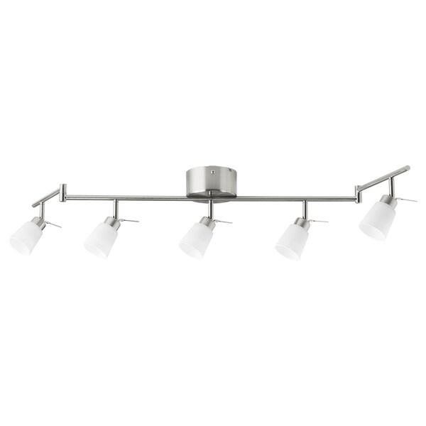 TIDIG Deckenspot5 Spots vernickelt IKEA Österreich