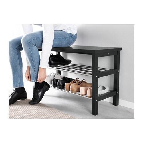 bank mit schuhablage top details with bank mit. Black Bedroom Furniture Sets. Home Design Ideas