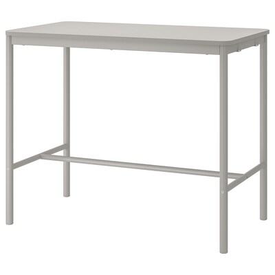 TOMMARYD Tisch, hellgrau, 130x70x105 cm