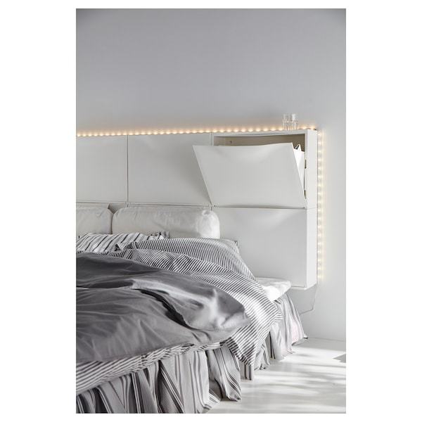 TRONES Aufbewahrung, weiß, 52x18x39 cm