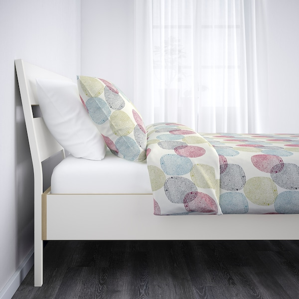Trysil Bettgestell Weiss Hellgrau Ikea Osterreich