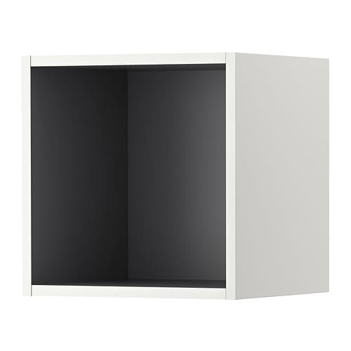 tutemo regal wei grau 40x37x40 cm ikea. Black Bedroom Furniture Sets. Home Design Ideas
