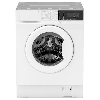 TVÄTTAD Einbauwaschmaschine, weiß