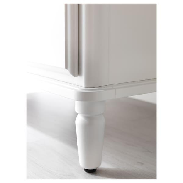 TYSSEDAL Kommode mit 6 Schubladen, weiß, 127x81 cm