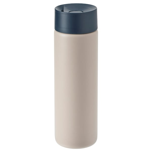 UNDERSÖKA Reise-Isolierbecher, beige, 0.4 l
