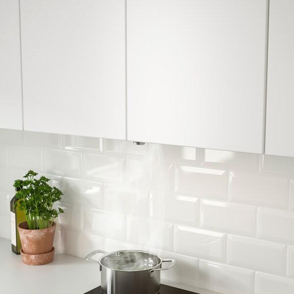 UNDERVERK Dunstabzug zum Einbauen, Edelstahl, 80 cm