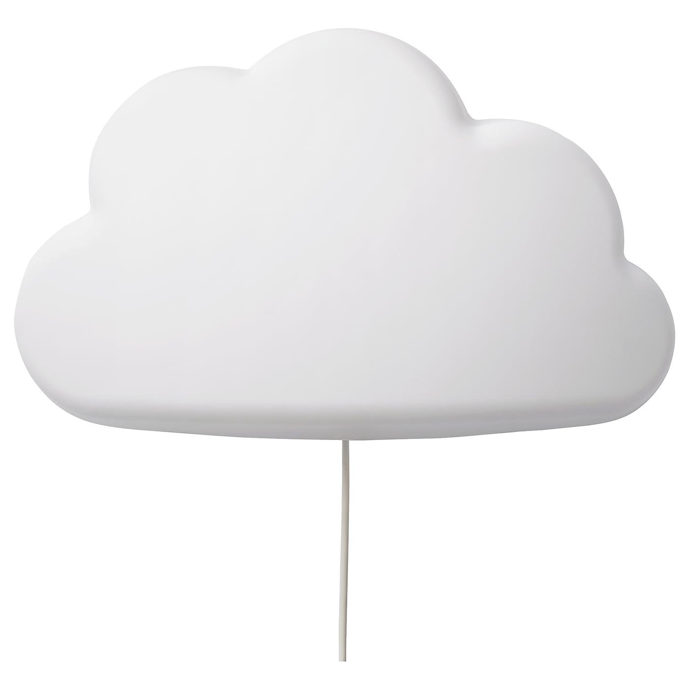 UPPLYST Wandleuchte, LED Wolken weiß