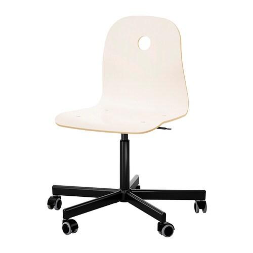 Drehstuhl weiß schwarz  VÅGSBERG / SPORREN Drehstuhl - weiß/schwarz - IKEA