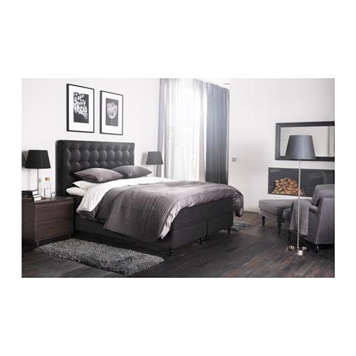 boxspringbett ikea 180 200. Black Bedroom Furniture Sets. Home Design Ideas