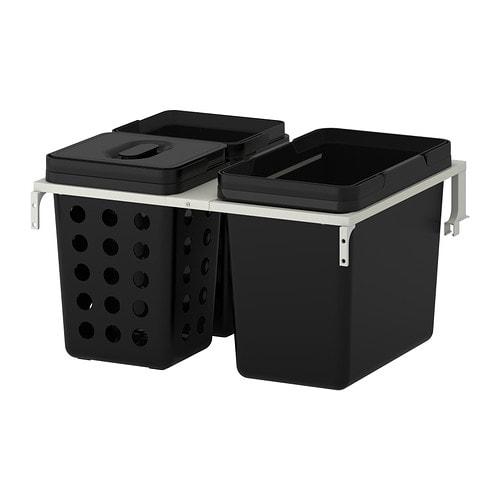 Ikea Drawers For Kitchen Cabinets ~  Küchen & Elektrogeräte  Schrankeinrichtung  Abfalltrennung