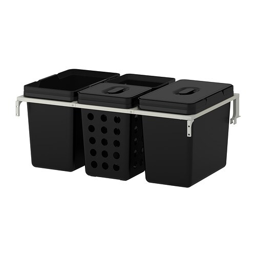 Ikea Jugendbett Zum Ausziehen ~  Küchen & Elektrogeräte  Schrankeinrichtung  Abfalltrennung
