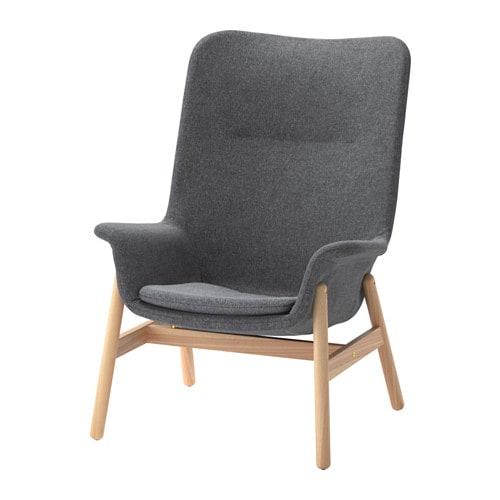 vedbo sessel mit hoher r ckenlehne ikea. Black Bedroom Furniture Sets. Home Design Ideas